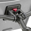 KlickFix Fietskist 2 Fietskoffer- & Mand stuur grijs/zwart